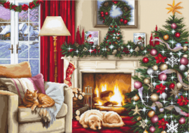 CHRISTMAS INTERIOR (aida)
