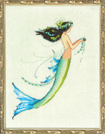 MATERIAALPAKKET PETITE MERMAID COLLECTION - MERMAID AZURE - MIRABILIA DESIGNS