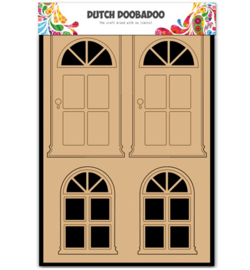 Dutch Doobadoo - Dutch MDF Art - Door & Window