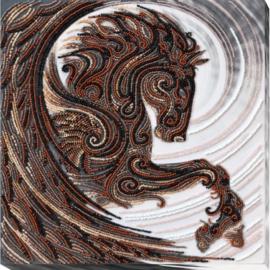 KRALEN BORDUURPAKKET BLACK PEGASUS - ABRIS ART