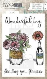 COOSA Crafts clearstamps A6 - WONDERFULL DAY