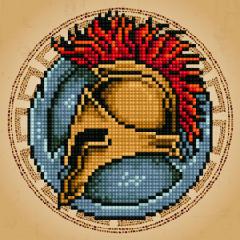 DIAMOND ART SPARTAN - LEISURE ARTS