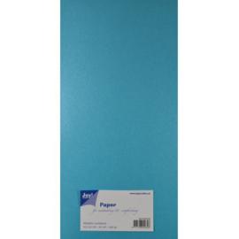 Metallic Cardstock 15 x 30 cm (pak van 20) blauw