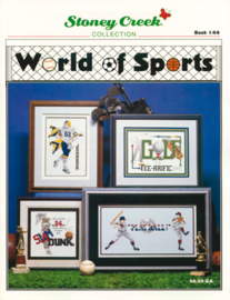 BORDUURPATROON  (booklet) WORLD OF SPORTS  - STONEY CREEK