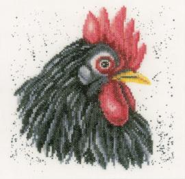 Animals - Zwarte Kip (linnen)