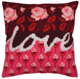 Borduurpakket Love - Collection d'Art