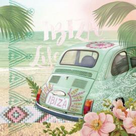 Ambiënte servetten 5st - Ibiza Life 33x33cm