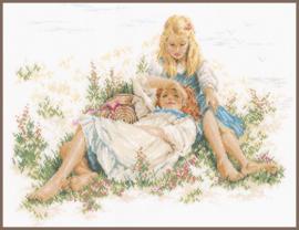 Romance - Dromen in het gras - (LINNEN) Lanarte