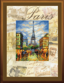 BORDUURPAKKET CITIES OF THE WORLD - PARIS - RIOLIS