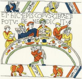 BORDUURPAKKET BOTHY DESIGNS - THE BISHOP'S FEAST - BOTHY THREADS