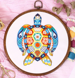 Turtle - Embroidery (Schildpad)