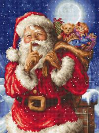 Borduurpakket LETI 8000 Santa's Secret