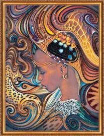 KRALEN BORDUURPAKKET DAUGHTER OF AFRICA - ABRIS ART
