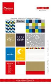 Papierset Marianna Design - Project NL - December
