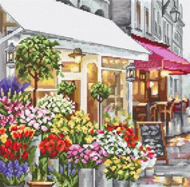 Borduurpakket LETI 986 Flower Shop