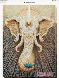 KRALEN BORDUURPAKKET Elephant - ABRIS ART