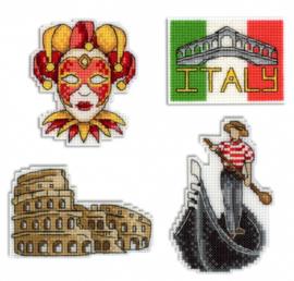 Koelkastmagneet/needleminders ITALIË