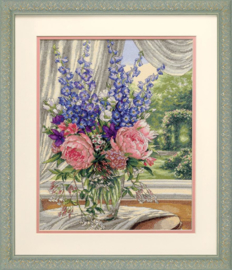 PEONIES&DELPHINIUMS - Dimensions (GOLD collection)