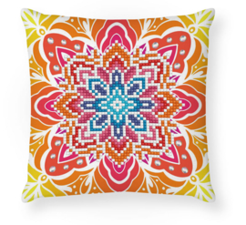 DIAMOND DOTZ SUMMER SPARKLE MINI PILLOW - NEEDLEART WORLD
