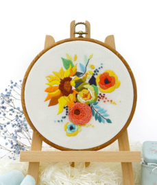 Sunflower - Embroidery (Zonnebloemen)