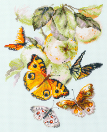 BUTTERFLIES AND APPLES