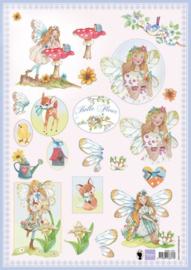 Knipvel Belle Fleur 1  - Marianne Design
