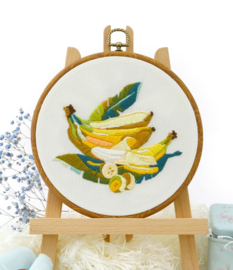 Bananas - Embroidery (Bananen)