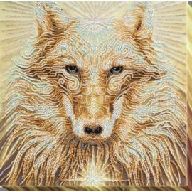 KRALEN BORDUURPAKKET WOLF (LEADER) - ABRIS ART