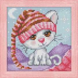 DIAMOND PAINTING KIT DREAMING CAT AZ-1571