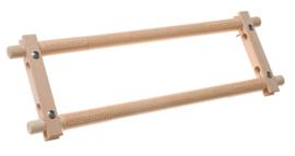 Borduurraam 68 x 30 hout EASYCLIP (buitenmaat 76 x 30)