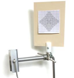 Magneet bord houder voor de Silver Grey Lowery Stand