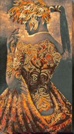 KRALEN BORDUURPAKKET GOLD OF THE NIGHT - ABRIS ART