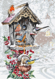 Borduurpakket Luca-S 2399 BIRD HOUSE