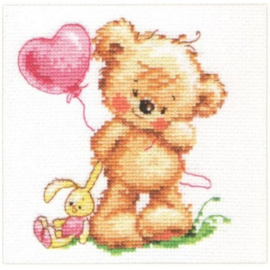 LOVELY TEDDY BEAR S0-70 - ALISA