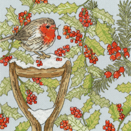BORDUURPAKKET FAY MILADOWSKA - CHRISTMAS GARDEN - BOTHY THREADS