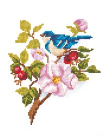 DIAMOND PAINTING BLUE BIRD - FREYJA CRYSTAL