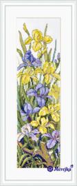 BORDUURPAKKET FROGS IN THE FLOWERS - MEREJKA