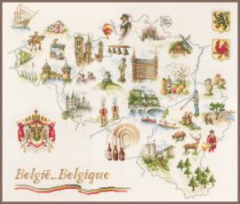 Classic - Kaart van België