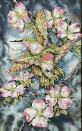 KOLIBRI in FLOWER - TELA ARTIS