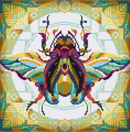 Diamond painting MANDALA Insecten KEVER