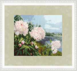 BLOOMING PEONIES S/LP059