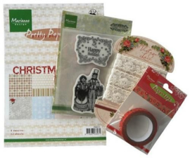 Marianne D Assortiment set Happy Holidays PA4009