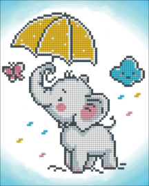 DIAMOND DOTZ BABY BROLLIE - NEEDLEART WORLD
