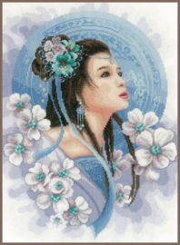 Culture - Asian Lady in Blue