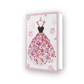 DIAMOND DOTZ GREETING CARD PARTY TIME - NEEDLEART WORLD