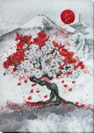 KRALEN BORDUURPAKKET HANAMI - ABRIS ART