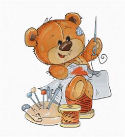 TEDDY BEAR STITCHING
