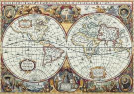 BORDUURPAKKET MAP OF THE WORLD - PANNA