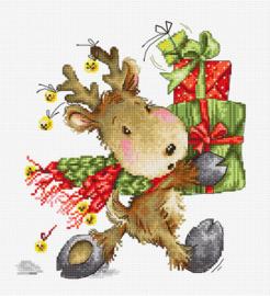 CHRISTMAS FAWN (aida)