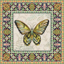 Borduurpakket LETI 981 Vintage Butterfly